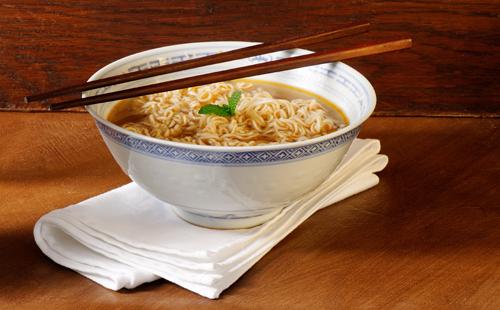 La soupe chinoise au poulet