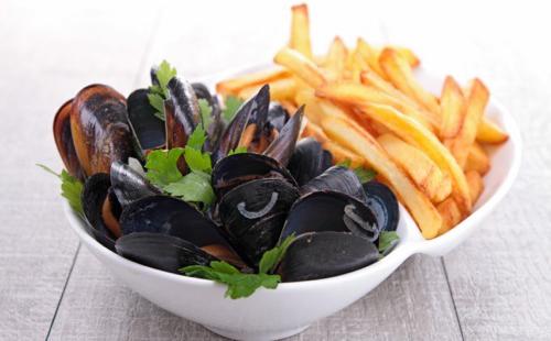 Moule marinières frites