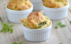 Muffins aux petits légumes