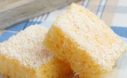 Gâteau de semoule à la noix de coco