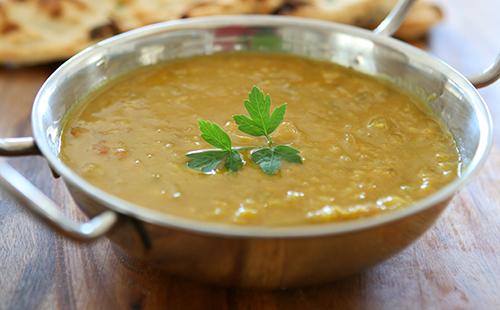 La soupe de lentilles indiennes (dhal)