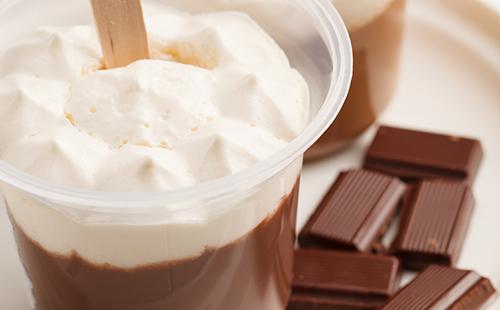 liégeois au chocolat