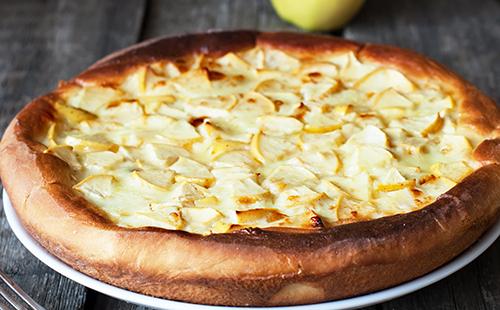 Tarte pommes râpées-citron
