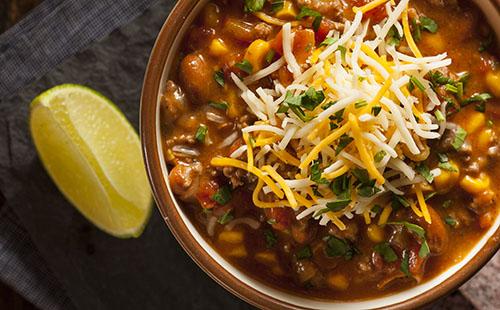 La soupe de boeuf à la mexicaine