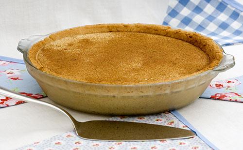 Milktart (cheesecake d'Afrique du Sud)