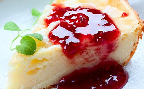 Ostkaka (cheesecake suédois)