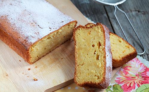 Gâteau à la clémentine