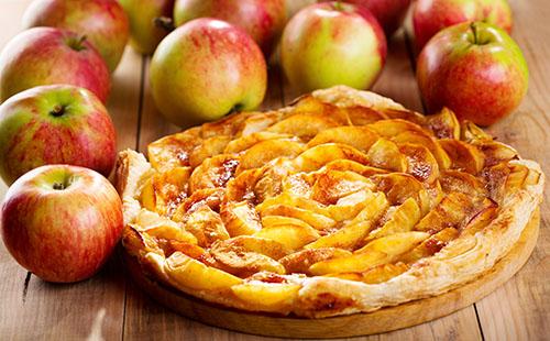 Tarte aux pommes et sa pâte feuilletée maison