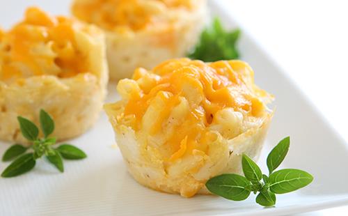 Muffin de coquillettes