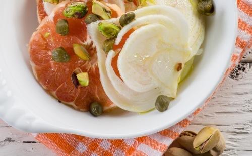 Salade de fenouil au pamplemousse