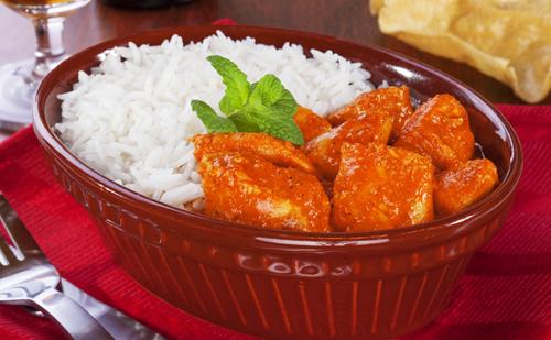 Curry d'agneau au riz