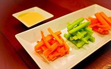 Salade carottes et concombres