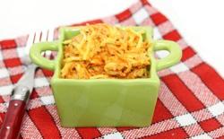 Assiette de céleri rémoulade et carottes