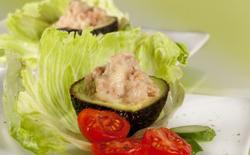 Salade d'avocat au thon