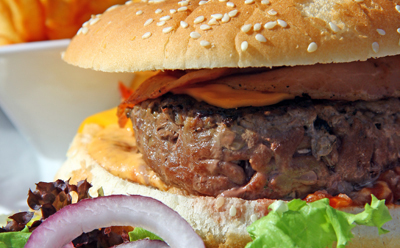 wecook hamburger maison frites m che et tomates. Black Bedroom Furniture Sets. Home Design Ideas