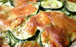 Dauphinois de courgettes
