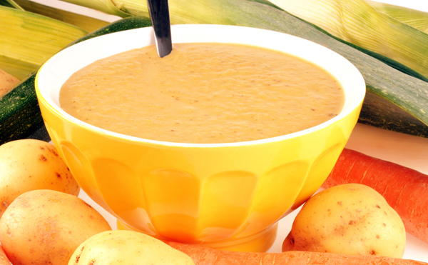 Potage velouté poireaux pommes de terre