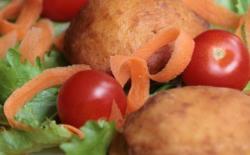 Beignets épicés de carottes