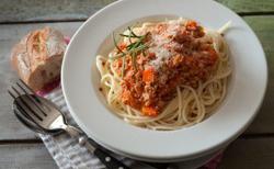 Bolognaise végétarienne au soja