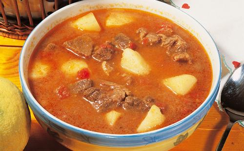 Chorba (soupe aux légumes algérienne)