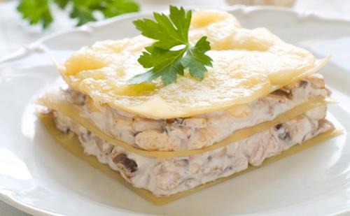 Lasagnes au fromage blanc et la tomate wecook - Comment cuisiner le choux chinois ...