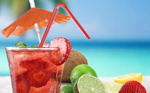 Cocktail aux fruits