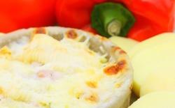 Tartiflette aux poivrons