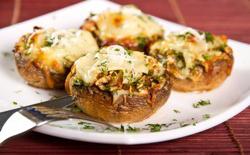 Champignons farcis végétariens