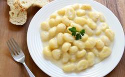 Gnocchi aux trois fromages