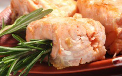 Filet de saumon au romarin