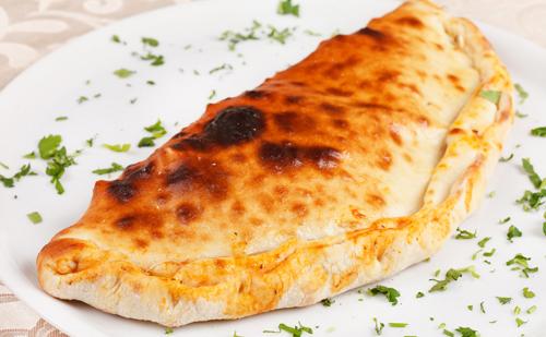 Pizza calzone aux aubergines