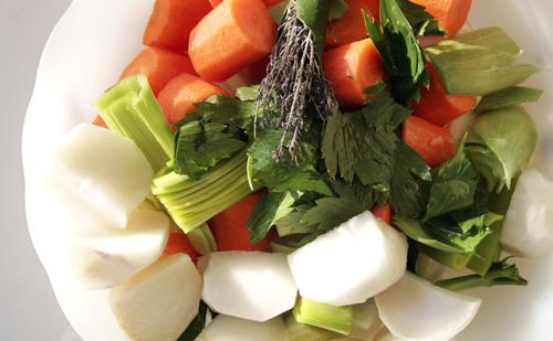 Pot au Feu de légumes