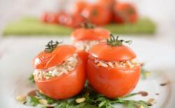 Tomates farcies au risotto