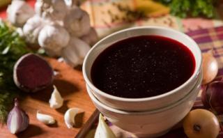 Bortsch (soupe aux betteraves)