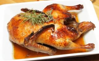 Canard aux pruneaux et son riz