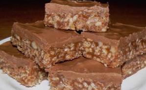 Chocolat fondant au beurre de cacahuètes au micro-ondes