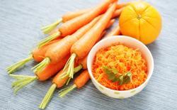 Carottes râpées orange-cannelle