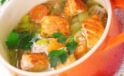 Cocotte de saumon aux légumes