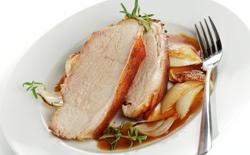 Filet de porc aux oignons