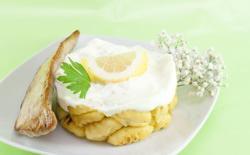 Gnocchis sauce citronnée et poulet