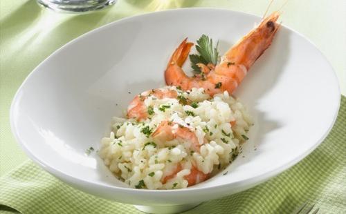 Risotto aux crevettes à l'italienne