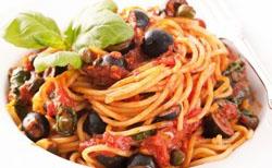 Spaghetti à la calabraise
