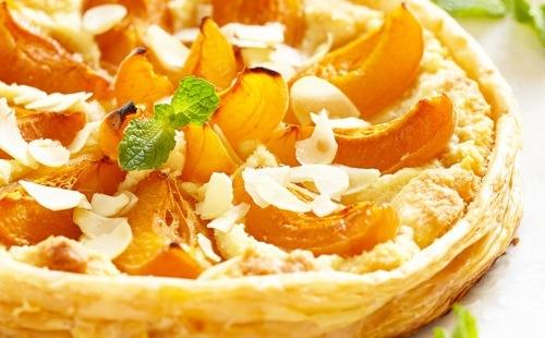 Tarte facile amande et abricot