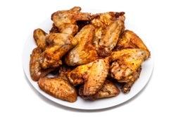 Alitas de pollo (ailes de poulet à la bière blonde)