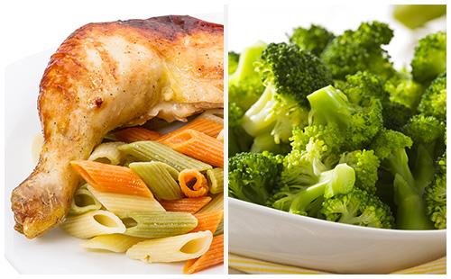 Wecook cuisse de poulet p tes et brocolis - Cuisse de poulet calories ...