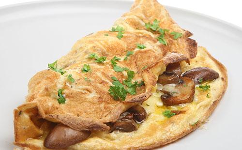 Omelette Aux Pleurotes WeCook - Comment cuisiner les pleurotes