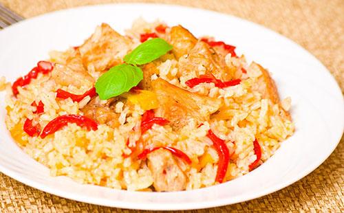 Wecook - Escalope de poulet et riz aux poivrons