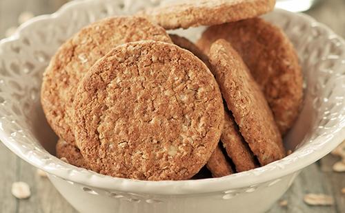 Biscuits aux flocons d'avoine écossais