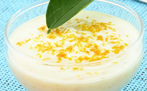 Syllabub au citron (crème dessert)