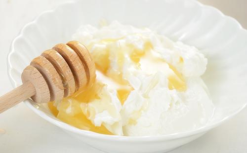 Fromage blanc au miel